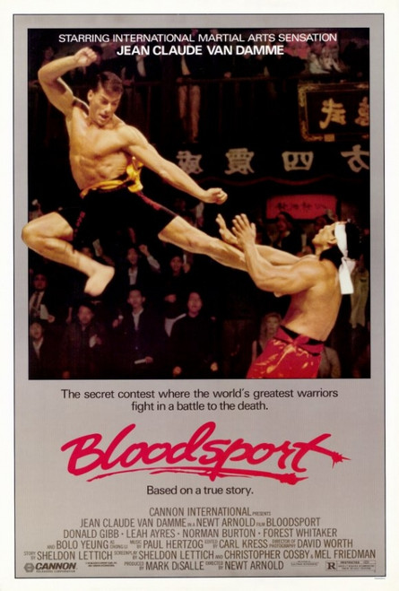 Bloodsport Movie Poster Print (27 x 40) - Item # MOVAF6826