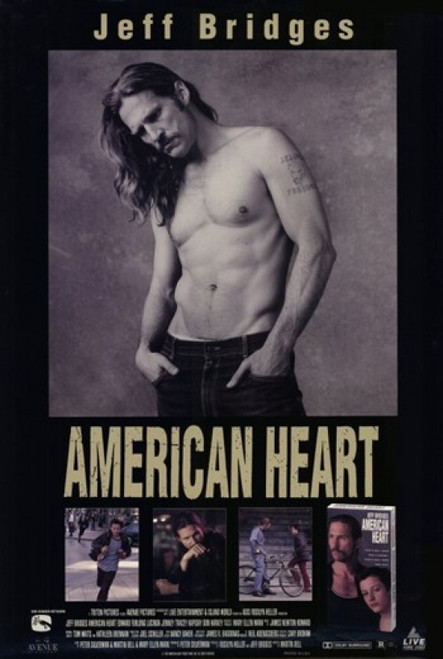 American Heart Movie Poster (11 x 17) - Item # MOV190649