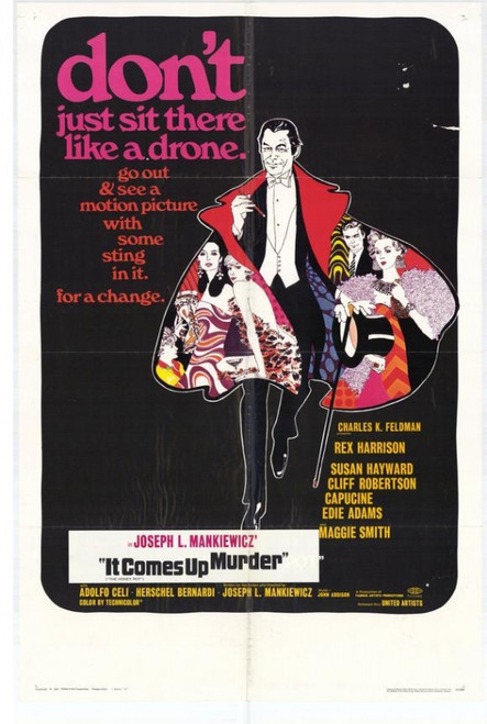 It Comes Up Murder Movie Poster Print (27 x 40) - Item # MOVEH9269