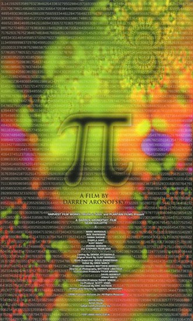 Pi Movie Poster (11 x 17) - Item # MOV236398
