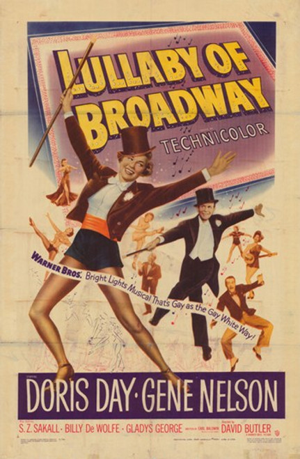 Lullaby of Broadway Movie Poster (11 x 17) - Item # MOV377575