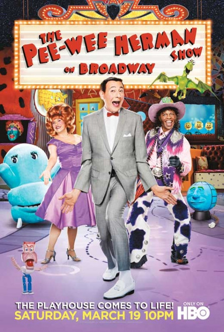 The Pee-Wee Herman Show on Broadway Movie Poster Print (27 x 40) - Item # MOVCB19904