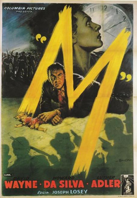 M Movie Poster (11 x 17) - Item # MOV416136