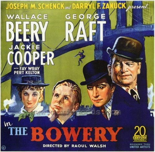 The Bowery Movie Poster Print (27 x 40) - Item # MOVAF3325