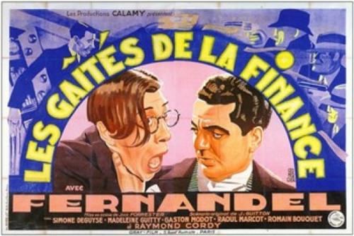 Gaites De La Finance Les Movie Poster (17 x 11) - Item # MOV242391