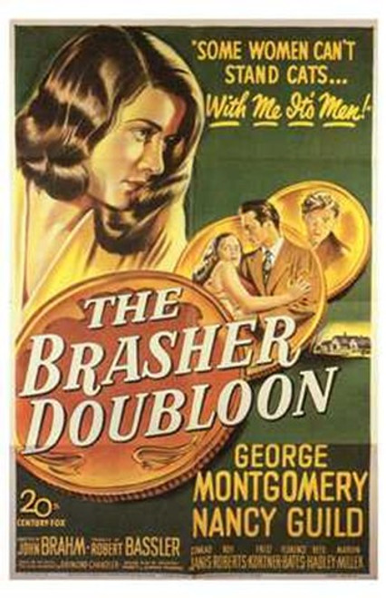 Brasher Doubloon Movie Poster (11 x 17) - Item # MOV252869