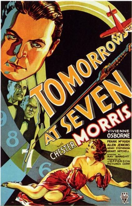 Tomorrow At Seven Movie Poster (11 x 17) - Item # MOV198331