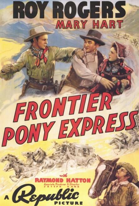 Frontier Pony Express Movie Poster Print (27 x 40) - Item # MOVAF2390