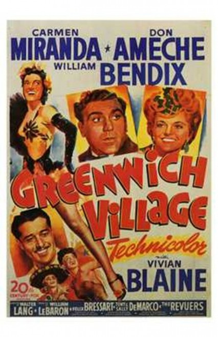 Greenwich Village Movie Poster (11 x 17) - Item # MOV143690