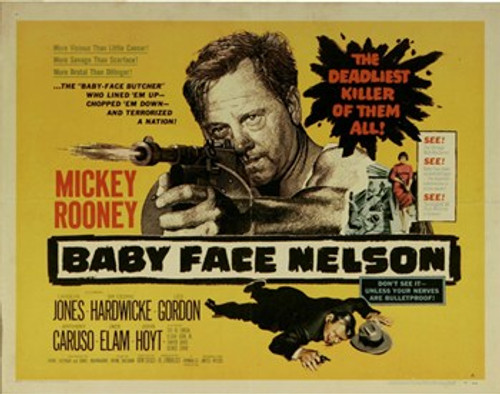 Baby Face Nelson Movie Poster (17 x 11) - Item # MOV414069
