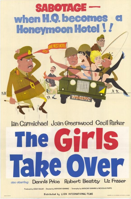 The Girls Take Over Movie Poster Print (27 x 40) - Item # MOVGH4222