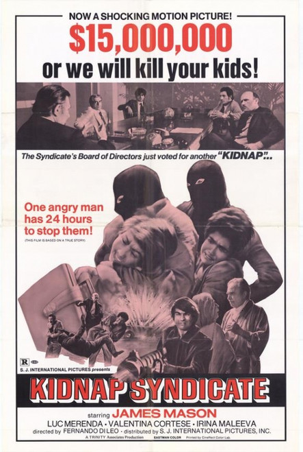 Kidnap Syndicate Movie Poster Print (27 x 40) - Item # MOVEH7688