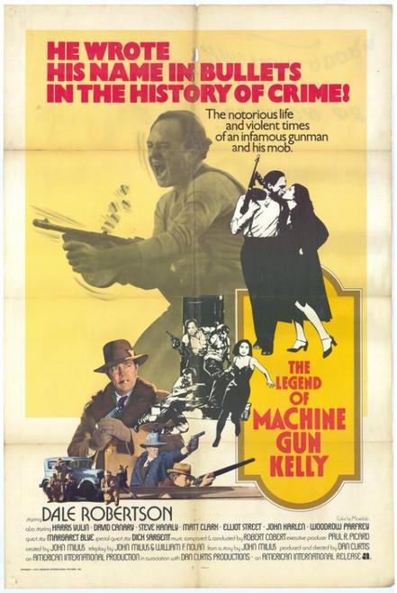 The Legend of Machine Gun Kelly Movie Poster Print (27 x 40) - Item # MOVCH6677