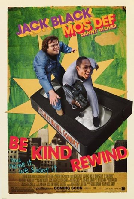 Be Kind Rewind Movie Poster (11 x 17) - Item # MOV405491