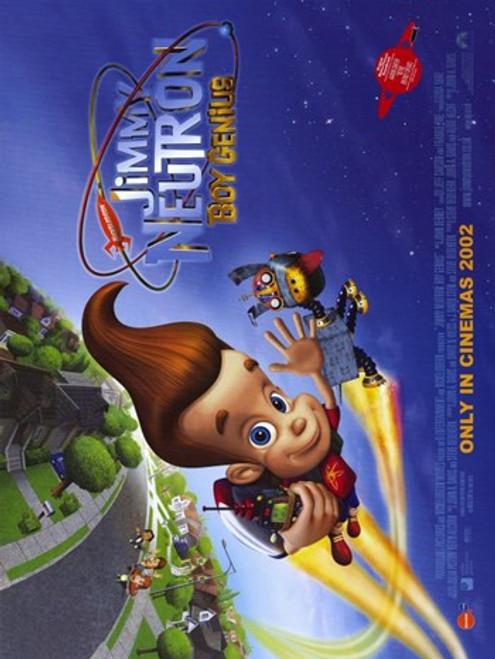 Jimmy Neutron Boy Genius Movie Poster (17 x 11) - Item # MOV253410