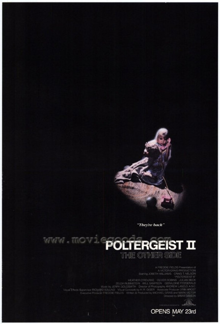 Poltergeist 2: The Other Side Movie Poster Print (27 x 40) - Item # MOVGF2965