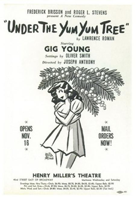 Under The Yum Yum Tree (Broadway) Movie Poster (11 x 17) - Item # MOV407413