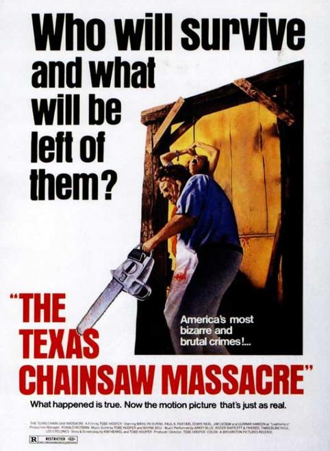 The Texas Chainsaw Massacre Movie Poster Print (27 x 40) - Item # MOVAJ1302