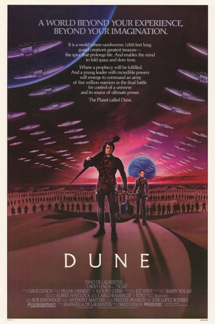 Dune Movie Poster Print (27 x 40) - Item # MOVCF0165