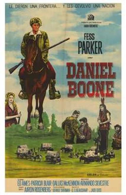 Daniel Boone (Tv) Movie Poster (11 x 17) - Item # MOV202006