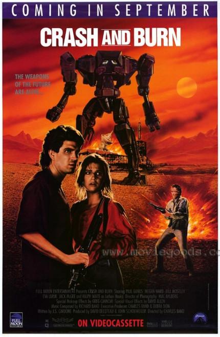 Crash and Burn Movie Poster Print (27 x 40) - Item # MOVIH3652