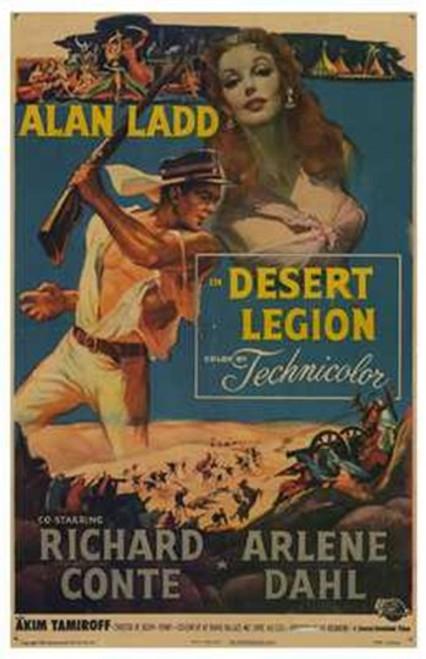 Desert Legion Movie Poster (11 x 17) - Item # MOV209890