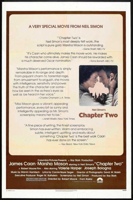Chapter Two Movie Poster Print (27 x 40) - Item # MOVIB79880