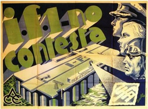 I.F.1. No Contesta Movie Poster (17 x 11) - Item # MOV206707