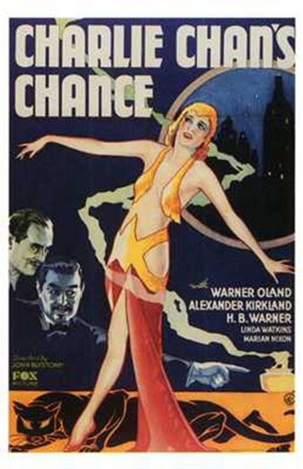 Charlie Chan's Chance Movie Poster (11 x 17) - Item # MOV198469