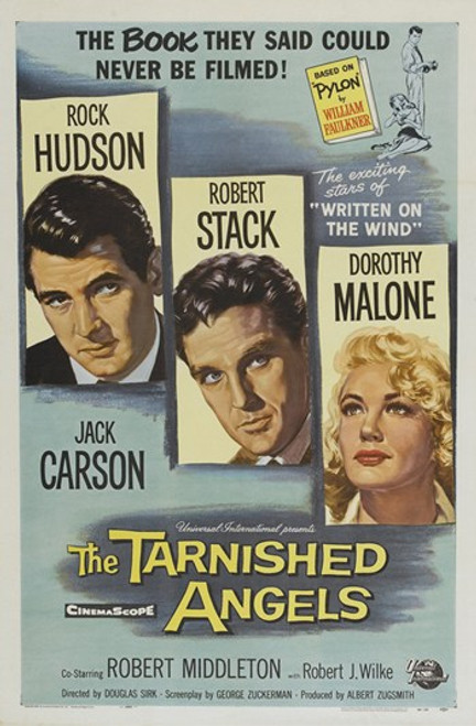 The Tarnished Angels Movie Poster (11 x 17) - Item # MOV413485