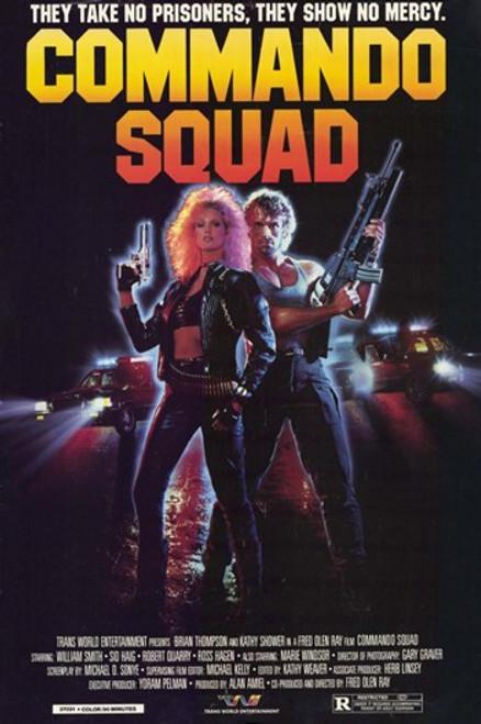 Commando Squad Movie Poster (11 x 17) - Item # MOV210307