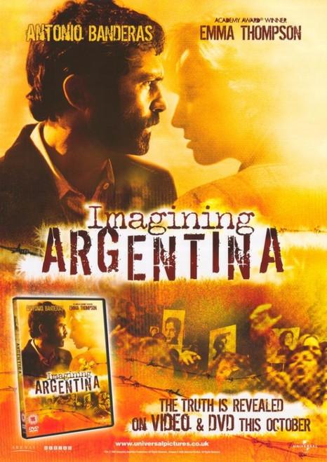 Imagining Argentina Movie Poster Print (27 x 40) - Item # MOVIH3503