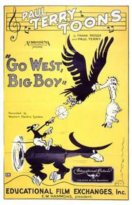 Go West Big Boy Movie Poster (11 x 17) - Item # MOV197792