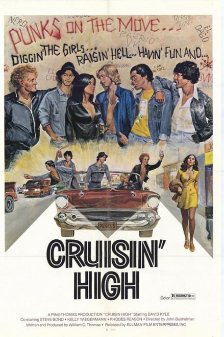 Cruisin' High Movie Poster Print (27 x 40) - Item # MOVCF3393