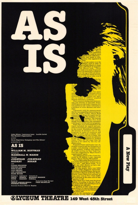 As Is (Broadway) Movie Poster Print (27 x 40) - Item # MOVEH6720