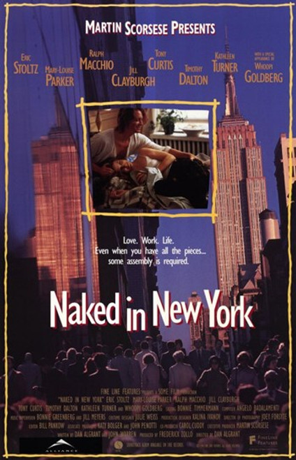 Naked in New York Movie Poster (11 x 17) - Item # MOV204404