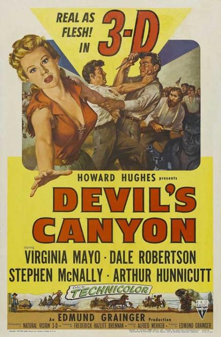 Devil's Canyon Movie Poster Print (27 x 40) - Item # MOVIJ3706