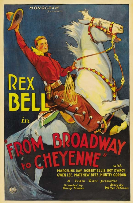 Broadway to Cheyenne Movie Poster Print (27 x 40) - Item # MOVAB92360