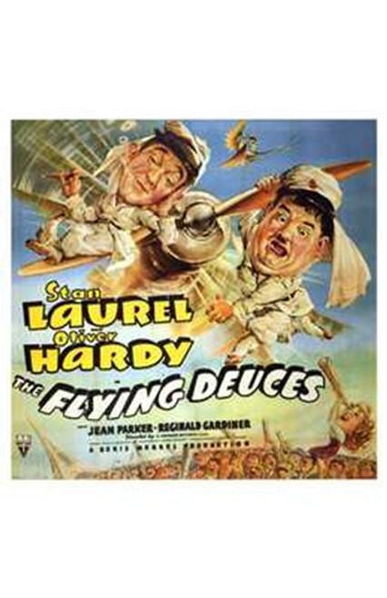 Flying Deuces Movie Poster (11 x 17) - Item # MOV197688