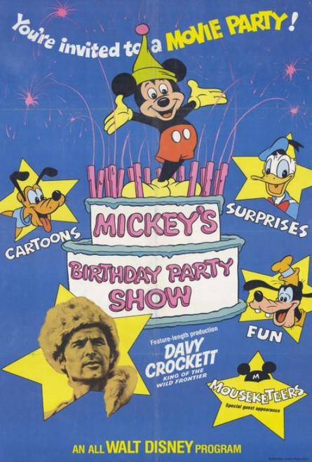 Mickey's Birthday Party Show Movie Poster Print (27 x 40) - Item # MOVGF3395