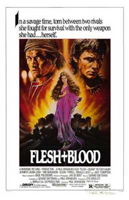 Flesh and Blood Movie Poster (11 x 17) - Item # MOV194488