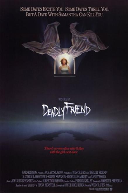 Deadly Friend Movie Poster (11 x 17) - Item # MOV193173