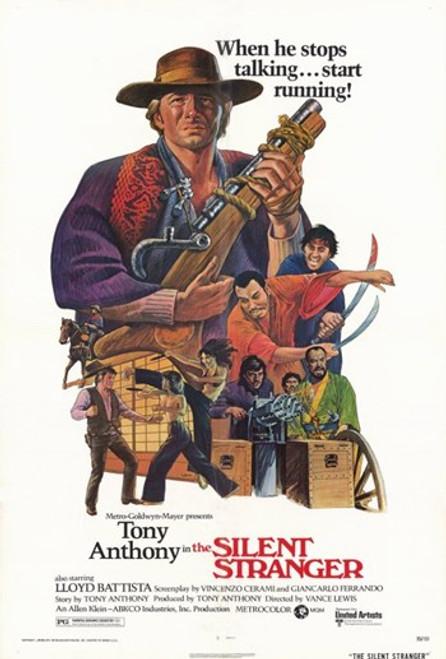 The Silent Stranger Movie Poster (11 x 17) - Item # MOV255834