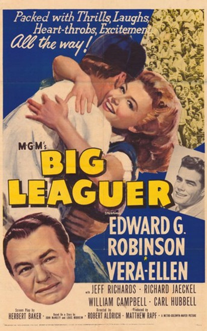 Big Leaguer Movie Poster (11 x 17) - Item # MOV351752