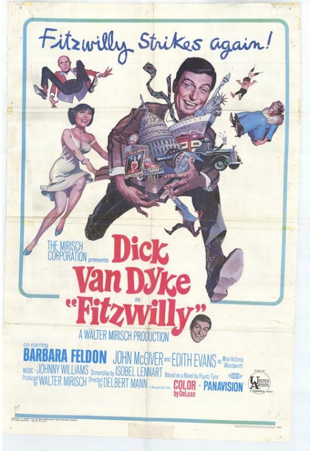 Fitzwilly Movie Poster Print (27 x 40) - Item # MOVAH6283