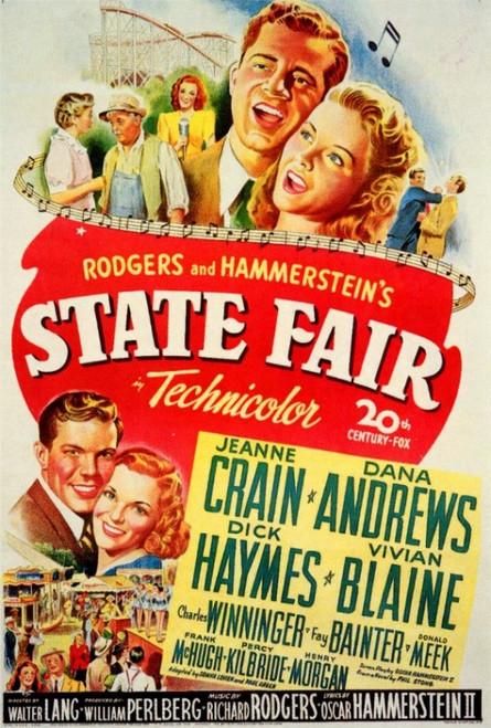 State Fair Movie Poster Print (27 x 40) - Item # MOVCF1335