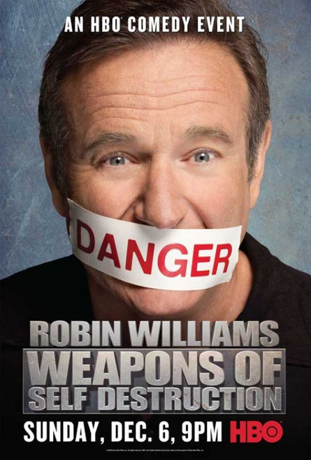 Robin Williams: Weapons of Self Destruction Movie Poster Print (27 x 40) - Item # MOVAB97290