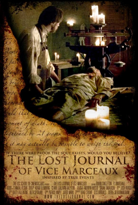 The Lost Journal of Vice Marceaux Movie Poster Print (27 x 40) - Item # MOVGJ7066