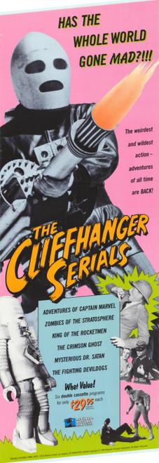 The Cliffhanger Serials Movie Poster Print (27 x 40) - Item # MOVCG4008