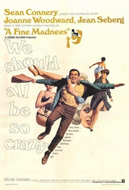 A Fine Madness Movie Poster (11 x 17) - Item # MOV254965